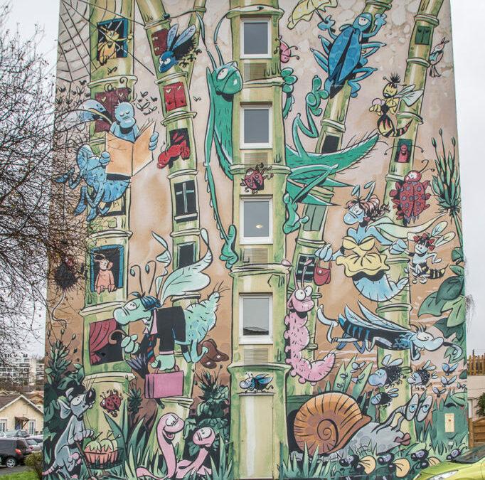 Les murs peints d'Angoulême