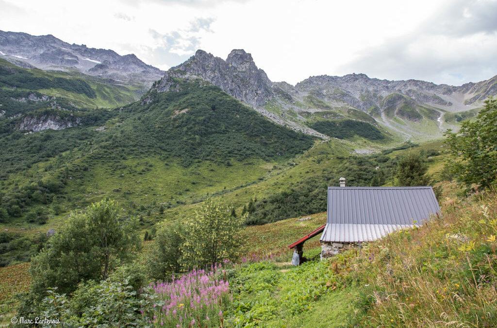 Randonnée sur le site des 7 Laux 2100 m (Allevard 38)